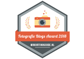 Banners voor Fotografie Blogs Award 2018