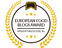 Banners for European Food Blogs Award